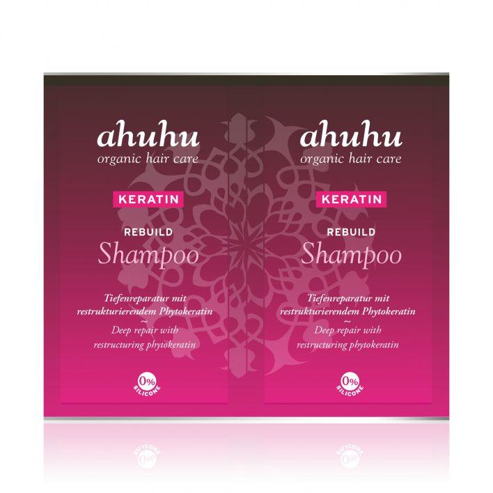KERATIN Rebuild Shampoo Sachet