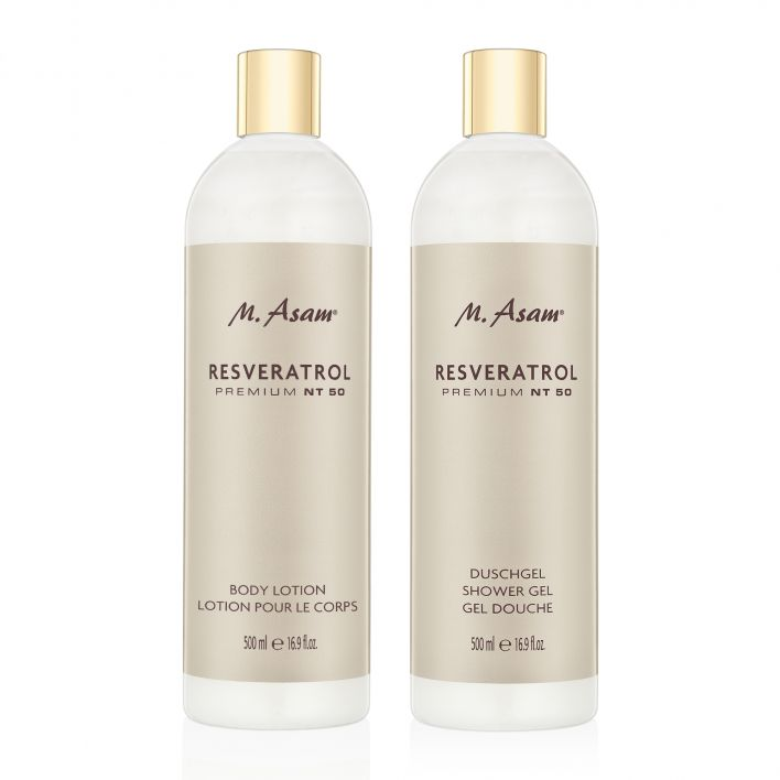 RESVERATROL Gel douche & Lotion corps