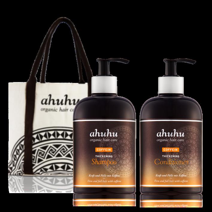 COFFEIN Thickening Shampoo XXL & Conditioner XXL + Shopper