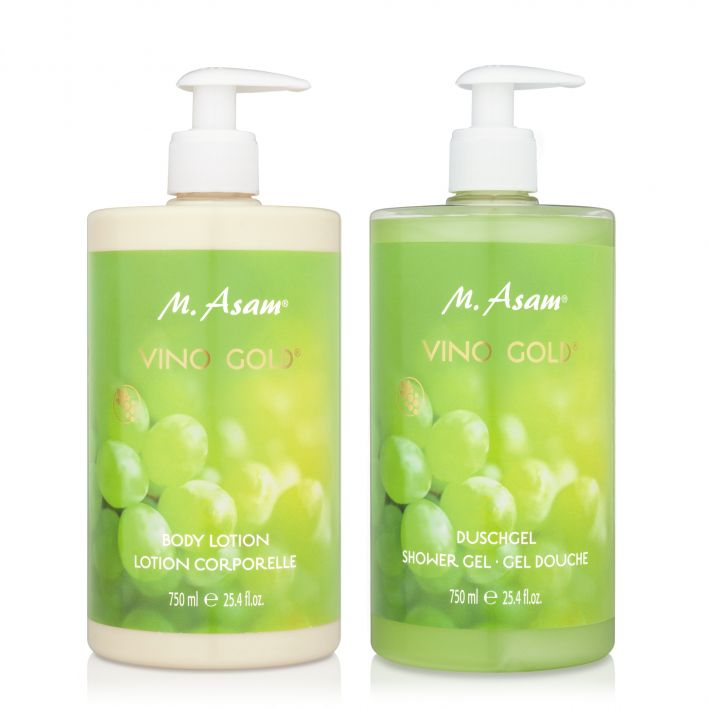 VINO GOLD Duo Gel douche & Lait corps