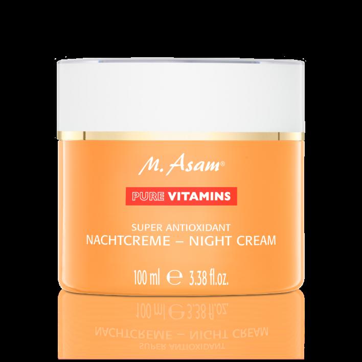 PURE VITAMINS Super Antioxidant Nachtcreme