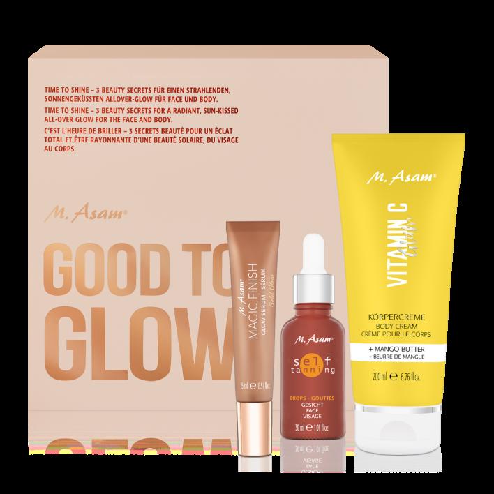 Good To Glow Set für Gesicht & Körper