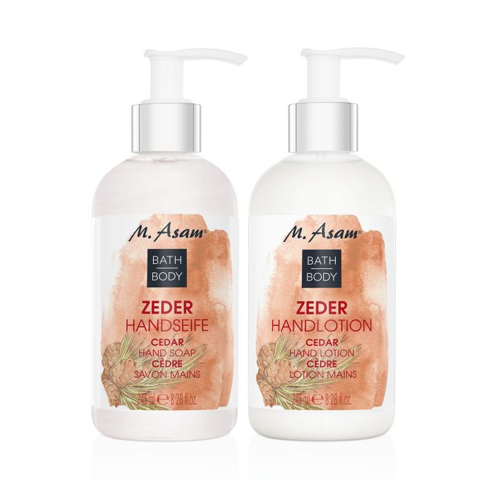 ZEDER Handseife & Handlotion Pflege-Set