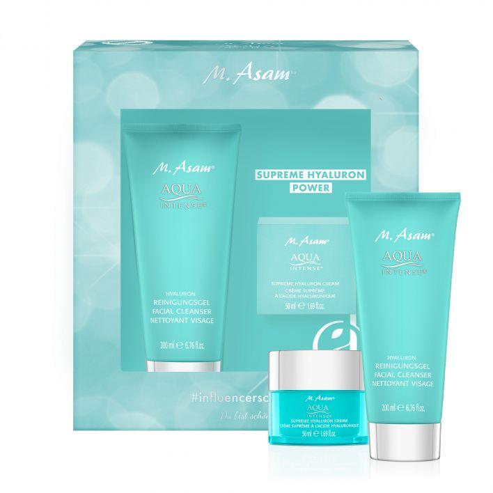 AQUA INTENSE Hyaluron Reinigungsgel & Supreme Hyaluron Cream