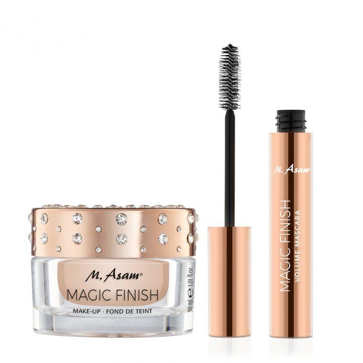 MAGIC FINISH Mascara & Make-up Mousse Diamond Edition