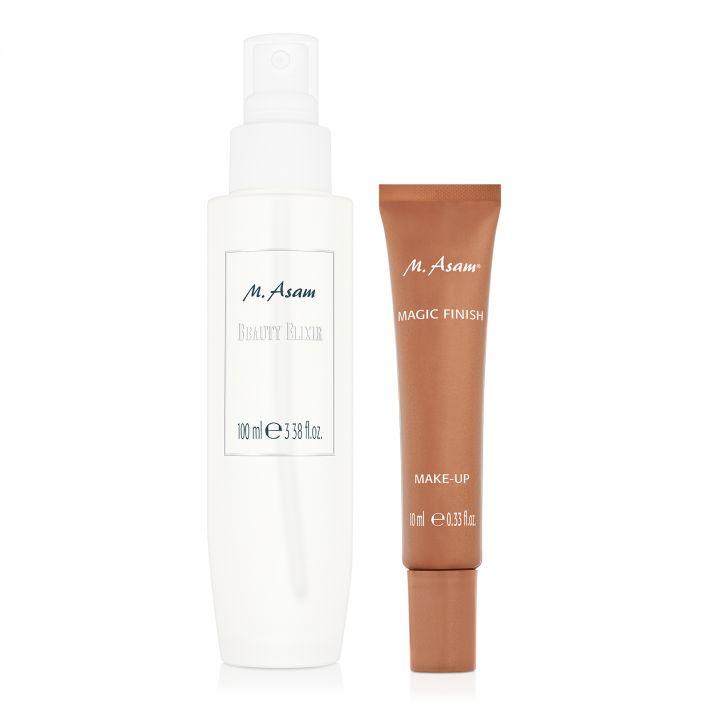 MAGIC FINISH Make-up Mousse Mini & Beauty Elixir