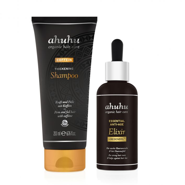 ESSENTIAL ANTI-AGE Elixir + Redensyl™ & COFFEIN Thickening Shampoo