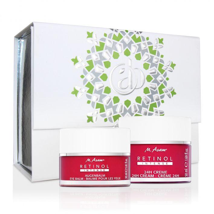 Geschenkbox mit RETINOL INTENSE Augenbalm & 24h Creme