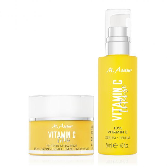VITAMIN C 10 % Intense Serum & Glow Feuchtigkeitscreme