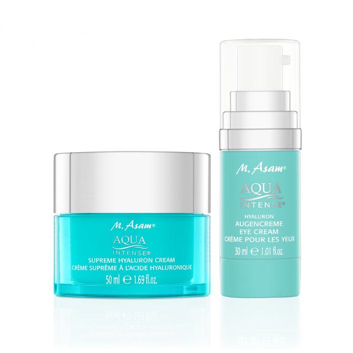 AQUA INTENSE Hyaluron Augencreme & Supreme Hyaluron Cream