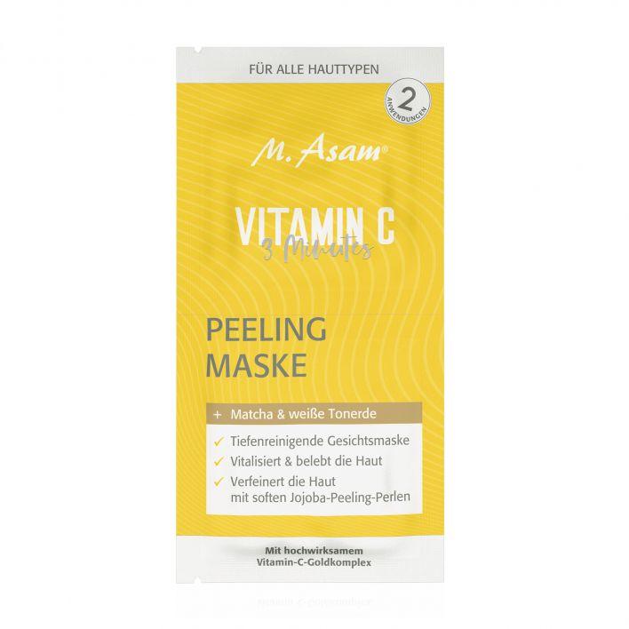 VITAMIN C 3-Minutes Peeling Maske Sachet