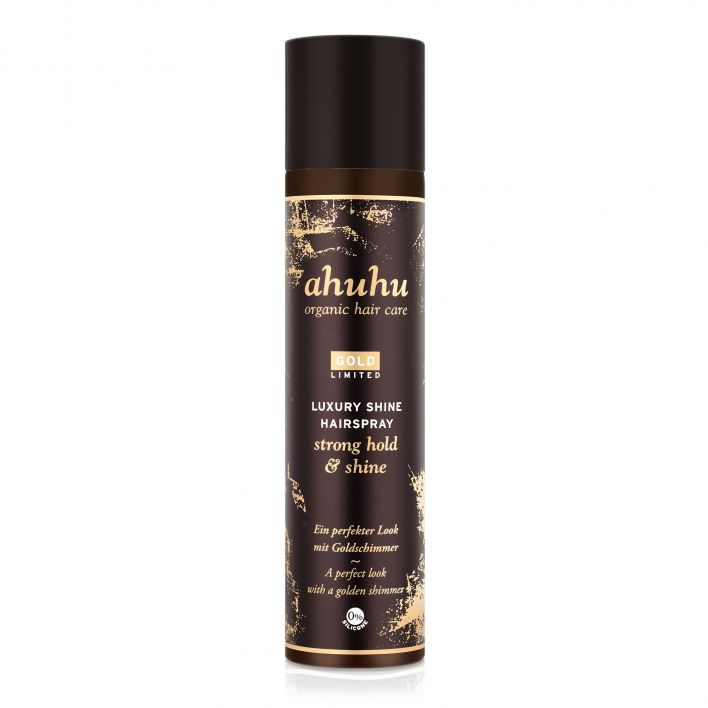 LUXURY SHINE Hairspray strong hold & shine