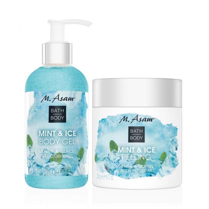 MINT & ICE Peeling & Body Gel