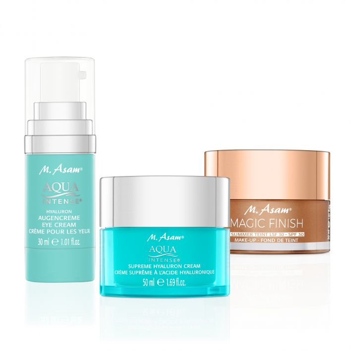 MAGIC FINISH Summer Teint & AQUA INTENSE Duo visage