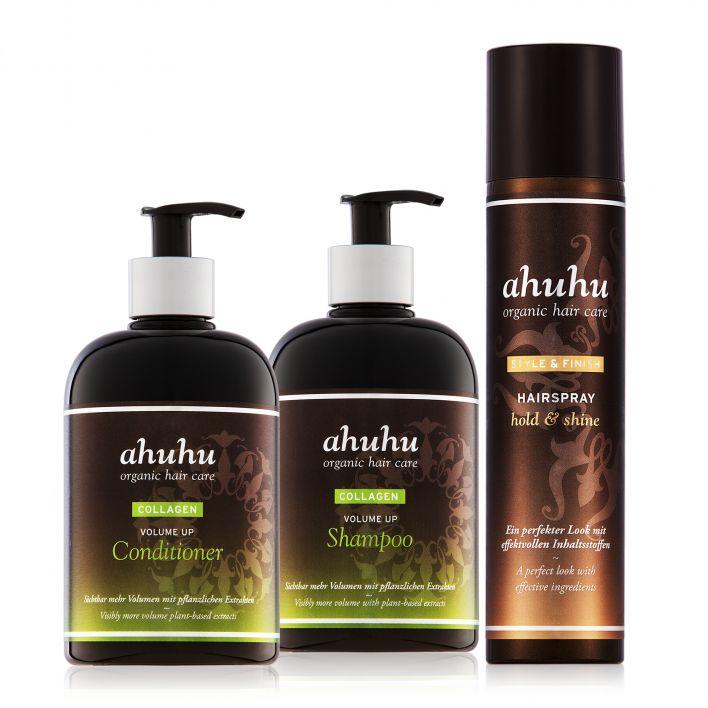 COLLAGEN Volume Up Shampoo, Conditioner & Hairspray