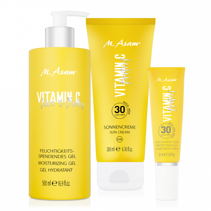 VITAMIN C Protect Schützendes Fluid LSF 30, Sonnencreme LSF 30 & Face & Body Gel