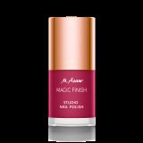 MAGIC FINISH STUDIO NAIL POLISH Pink Plum