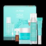AQUA INTENSE Hyaluron Serum, Augencreme, 24h Creme & Self Tanning Drops mit Geschenkkarton