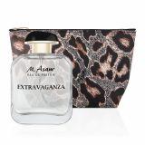 EXTRAVAGANZA Eau de Parfum & Kosmetiktasche Leoparden-Print