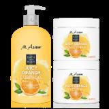 Juicy Orange Körperpflege Set