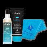 SHINE Hyaluron Shampoo, Hyaluron Shake it! Spray Conditioner & Beautiful! Hair Towel türkis